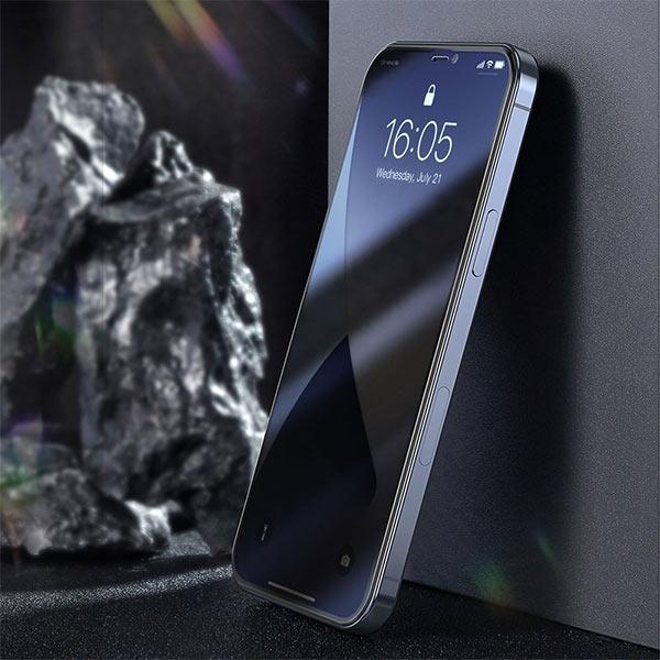 Folie Privacy iPhone 12 Mini, sticla securizata [7]