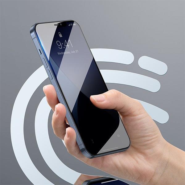 Folie Privacy iPhone 12 Pro Max, din sticla securizata [8]