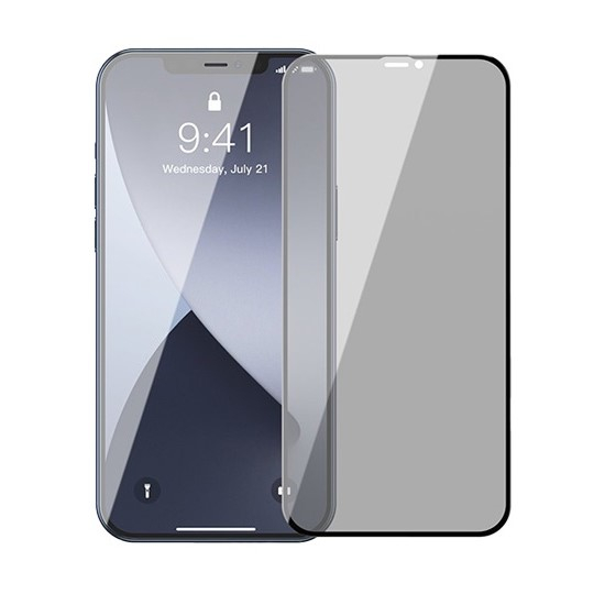 Folie Privacy iPhone 12 Pro Max, din sticla securizata [0]