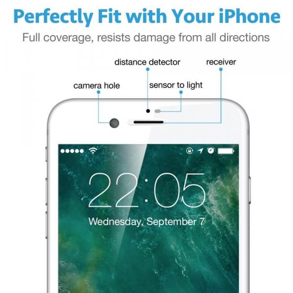 Folie sticla iPhone 7/8 [3]