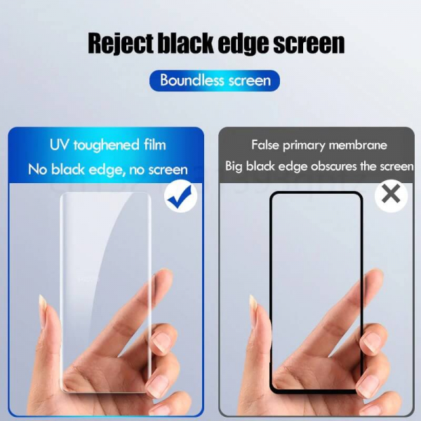 Folie sticla curbata UV Samsung Note 10 [4]