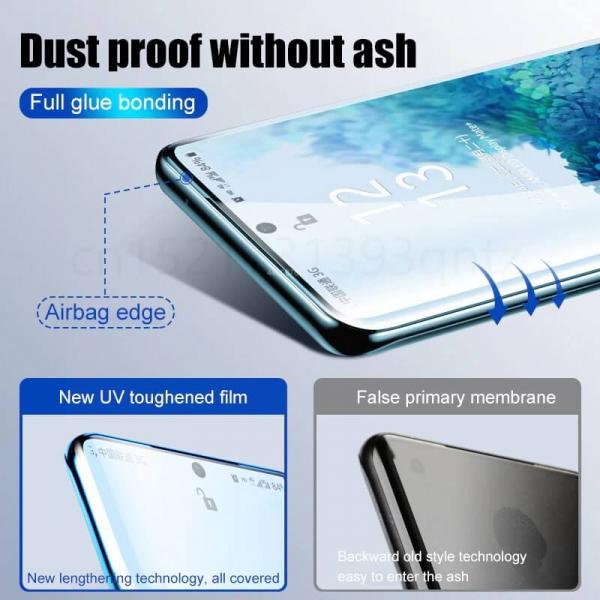 Folie sticla curbata UV Samsung Note 10 Plus [3]