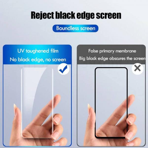 Folie sticla curbata UV Samsung Note 10 Plus [4]