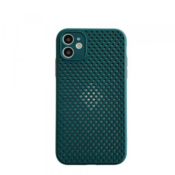 Husa iPhone 11 Heat Dissipation verde [0]