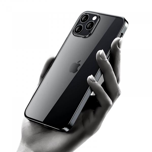 Husa margini negre iPhone 12Husa iPhone 12 Black Border [2]