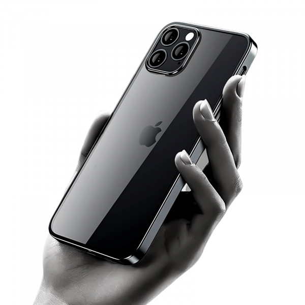 Husa iPhone 12 Pro Max Black Border [2]