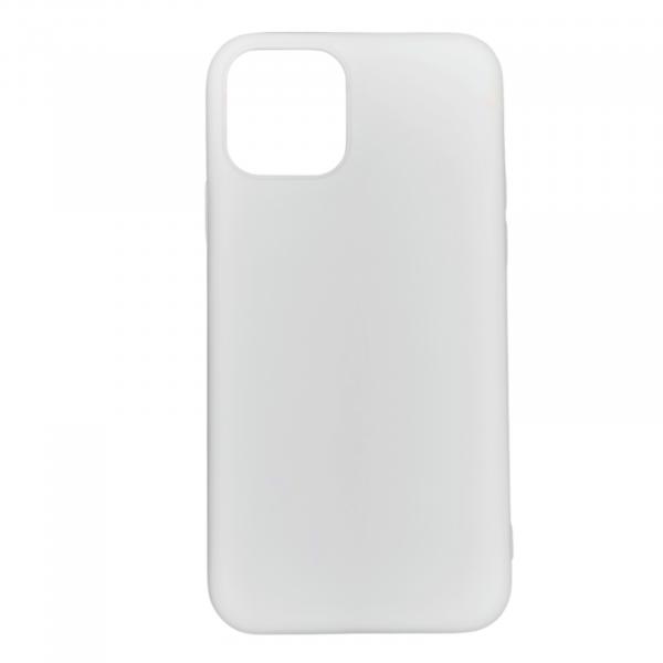 Husa iPhone 11 Pro Max din silicon alb [0]