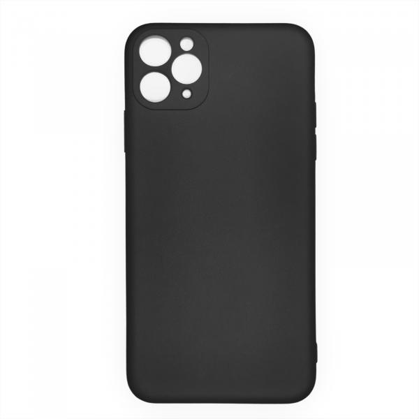 Husa iPhone 11 Pro Max silicon neagra [0]