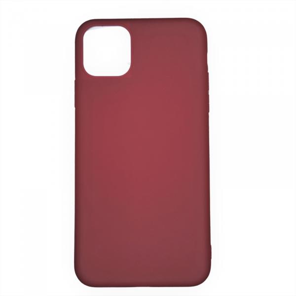 Husa iPhone 11 Pro Max din silicon roscat [0]
