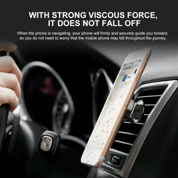Suport telefon auto magnetic Baseus [2]