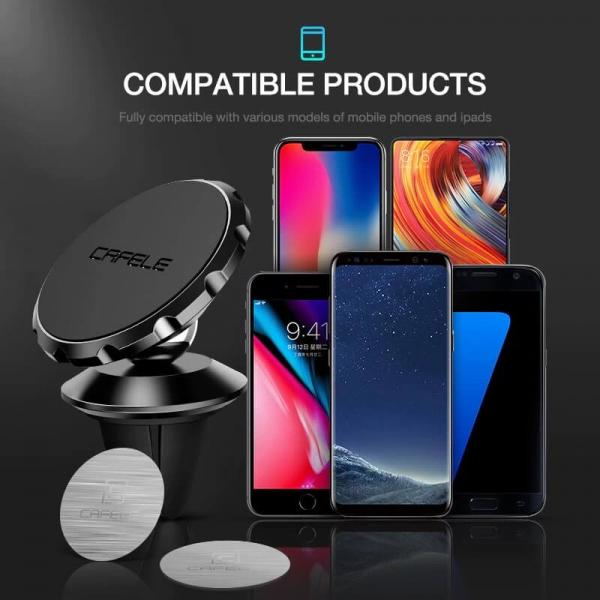 Suport telefon auto magnetic Cafele [6]