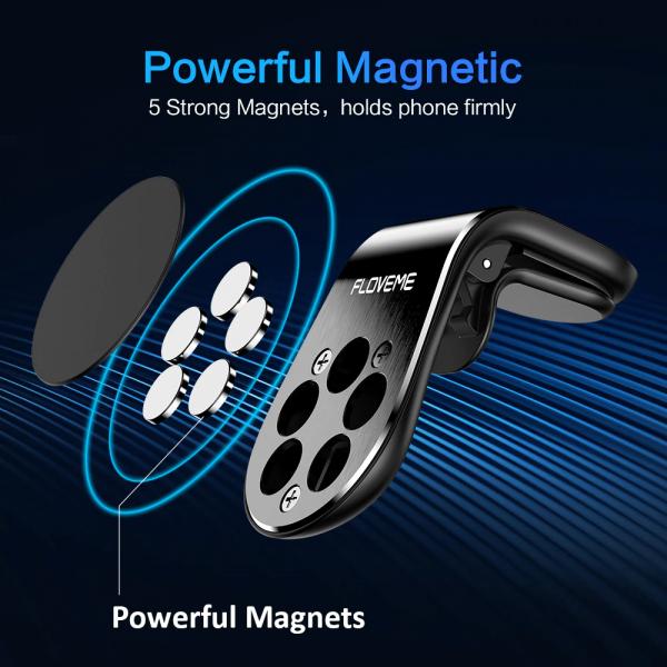 Suport telefon auto magnetic Floveme [2]