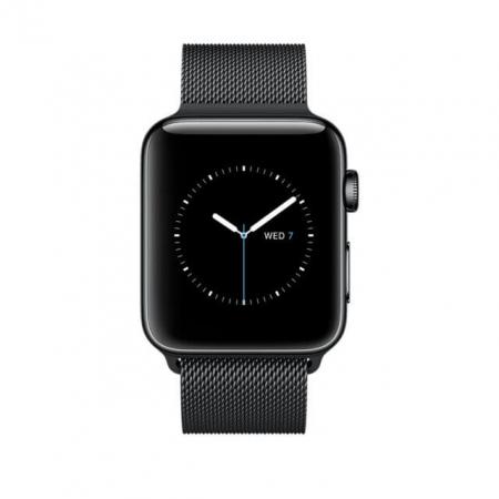 Bratara Apple Watch  Milanese Loop neagra  38/40 mm [5]