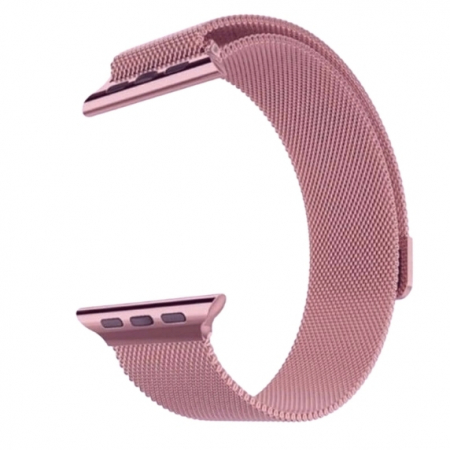 Bratara Apple Watch Milanese Loop Rose / Roz 38/40mm [0]