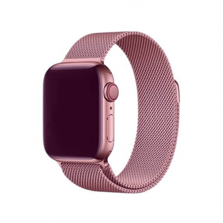 Bratara Apple Watch Milanese Loop Rose / Roz 38/40mm [1]
