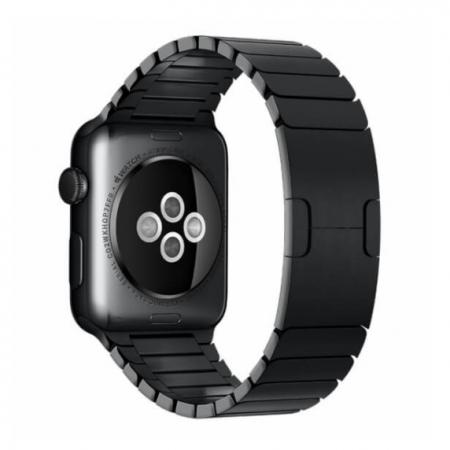 Bratara Apple Watch Metalica Neagra Space Black Link 42/44mm [3]