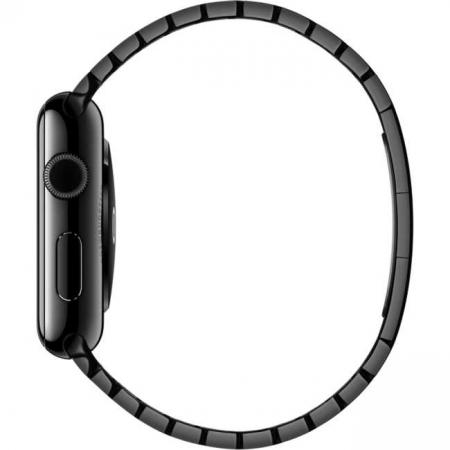 Bratara Apple Watch Metalica Neagra Space Black Link 42/44mm [4]