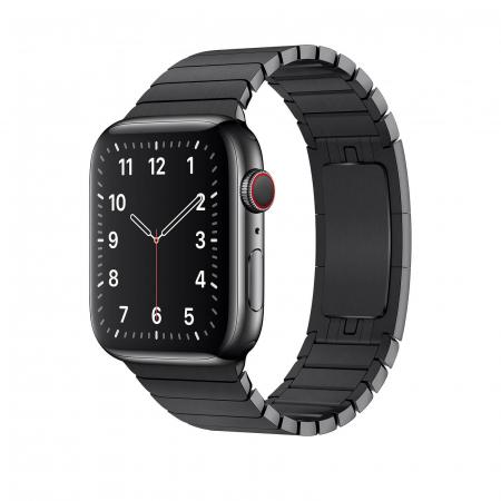 Bratara Apple Watch Metalica Neagra Space Black Link 42/44mm [1]