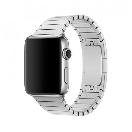 Bratara Apple Watch Metalica Silver Link 42/44mm [6]
