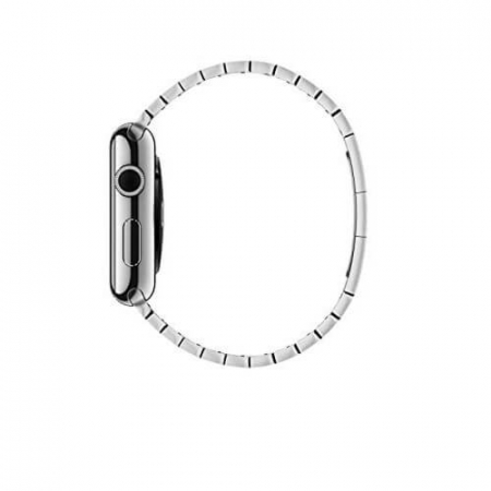 Bratara Apple Watch Metalica Silver Link 42/44mm [5]