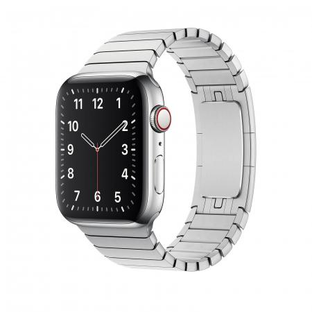 Bratara Apple Watch Metalica Silver Link 42/44mm [1]