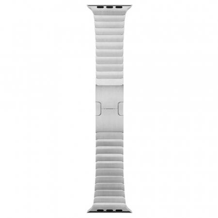 Bratara Apple Watch Metalica Silver Link 42/44mm [4]