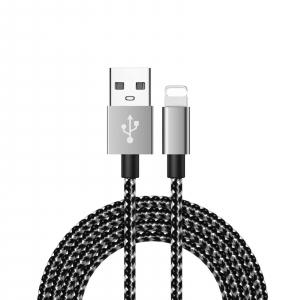 Cablu lightning 2.4A 2m [0]