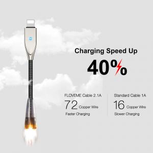 Cablu lightning 2.4A FLOVEME [2]