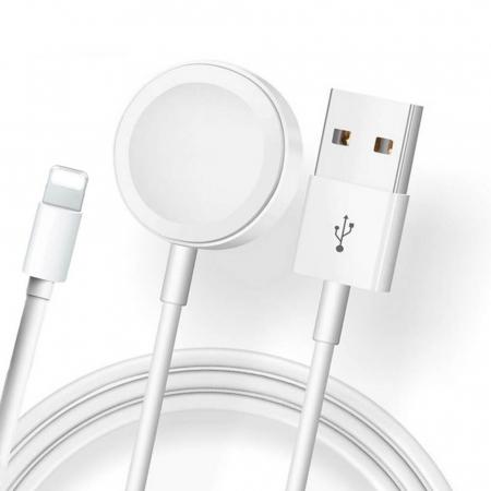 Cablu lightning 2 in 1 pentru iPhone/iPad si Apple Watch [0]