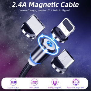 Cablu microUSB magnetic [2]