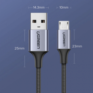 Cablu microUSB UGREEN [9]
