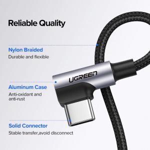 Cablu Type-C 3A 90° [6]