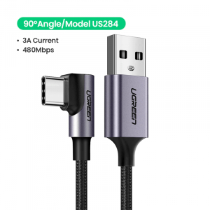 Cablu Type-C 3A 90° [1]
