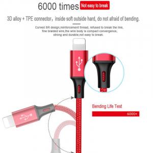Cablu universal 3 in 1 rosu [5]