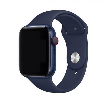 Curea Apple Watch Sport Albastra 42/44mm [1]
