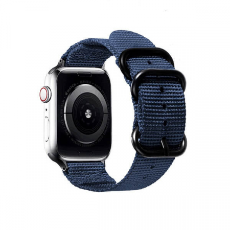 Curea Apple Watch sport nylon albastra 38/40mm [1]