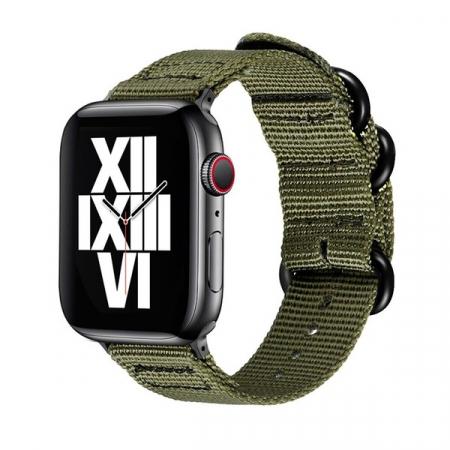 Curea Apple Watch sport verde army 42/44mm [0]