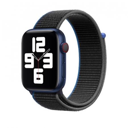Curea Apple Watch Sport Loop Charcoal 38/40mm [1]