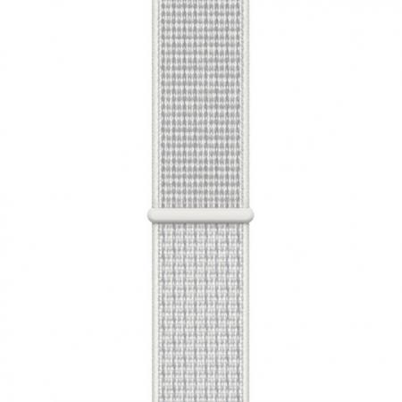 Curea Apple Watch Nylon Sport Loop Summit White 38/40mm [0]