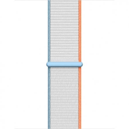 Curea Apple Watch Sport Loop Milky White 38/40mm