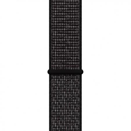 Curea Apple Watch Nylon Sport Loop Neagra 42/44mm [0]