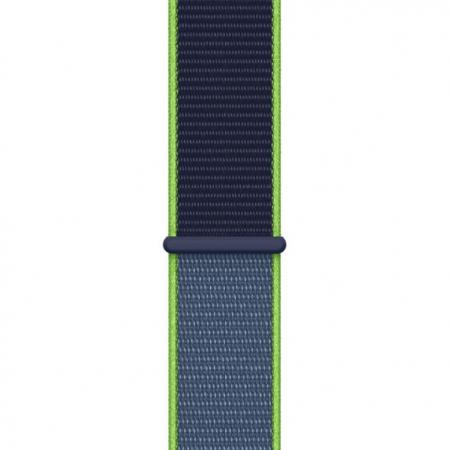 Curea Apple Watch Sport Loop Albastru-Neon 42/44mm [0]