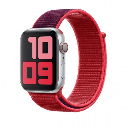 Curea Apple Watch Nylon Sport Loop Rosie 38/40mm [1]
