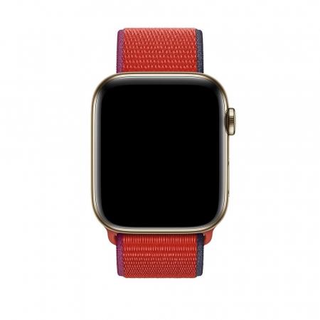 Curea Apple Watch Sport Loop New Red 38/40mm [2]