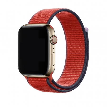 Curea Apple Watch Rosie Sport Loop New Red 42/44mm [1]