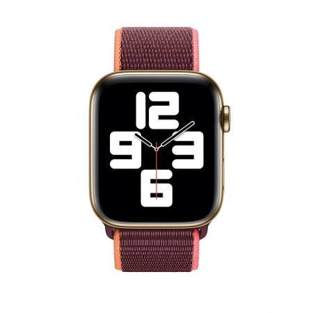 Curea Apple Watch Sport Loop Plum 38/40mm [2]