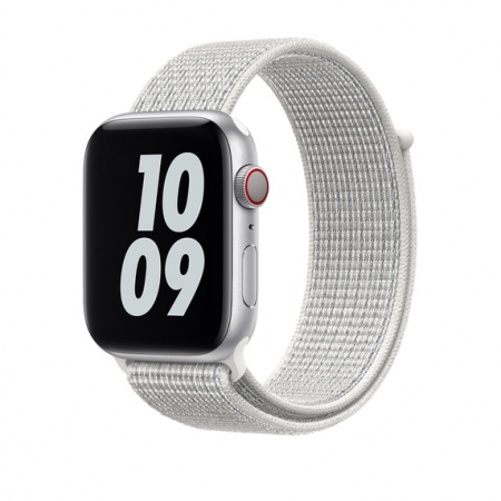 Curea Apple Watch Nylon Sport Loop Alba 42/44mm [1]