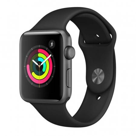 Curea Apple Watch Sport Neagra 42/44mm [3]
