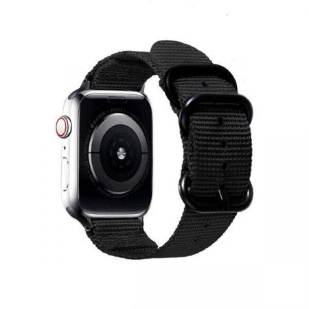 Curea Apple Watch sport nylon neagra 38/40mm [1]