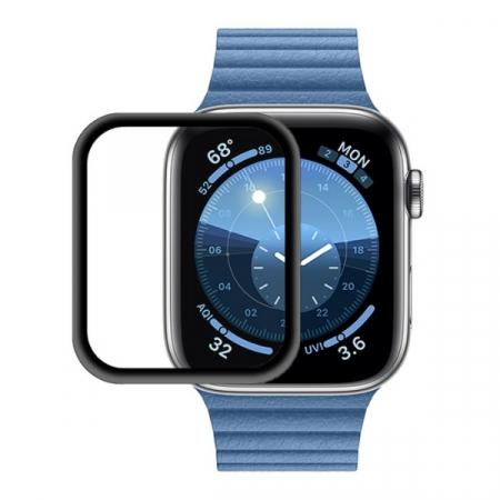 Folie Apple Watch 44mm din sticla curbata